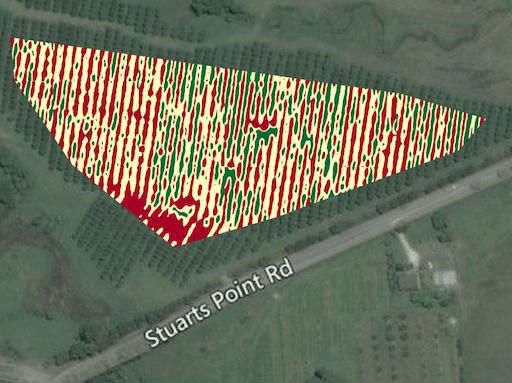 3d Map Stuarts Point Rd