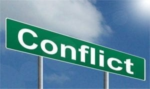 So what makes a great story? Conflict.
